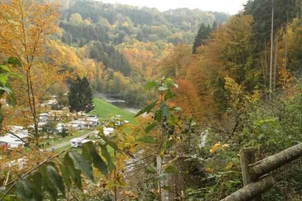 Camp Kyllburg in herfstsferen